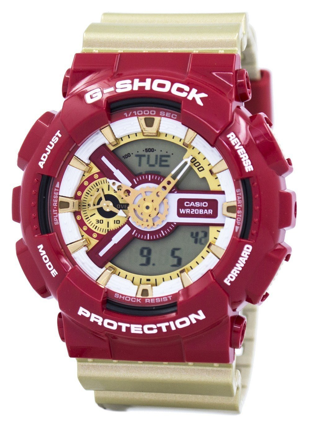 Casio G-Shock Limited Edition Analog Digital Bold Color GA-110CS-4A GA110CS-4A Men's Watch