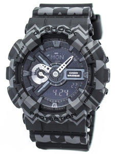 Casio G-Shock Analog Digital Tribal Pattern Series GA-110TP-1A Men's Watch