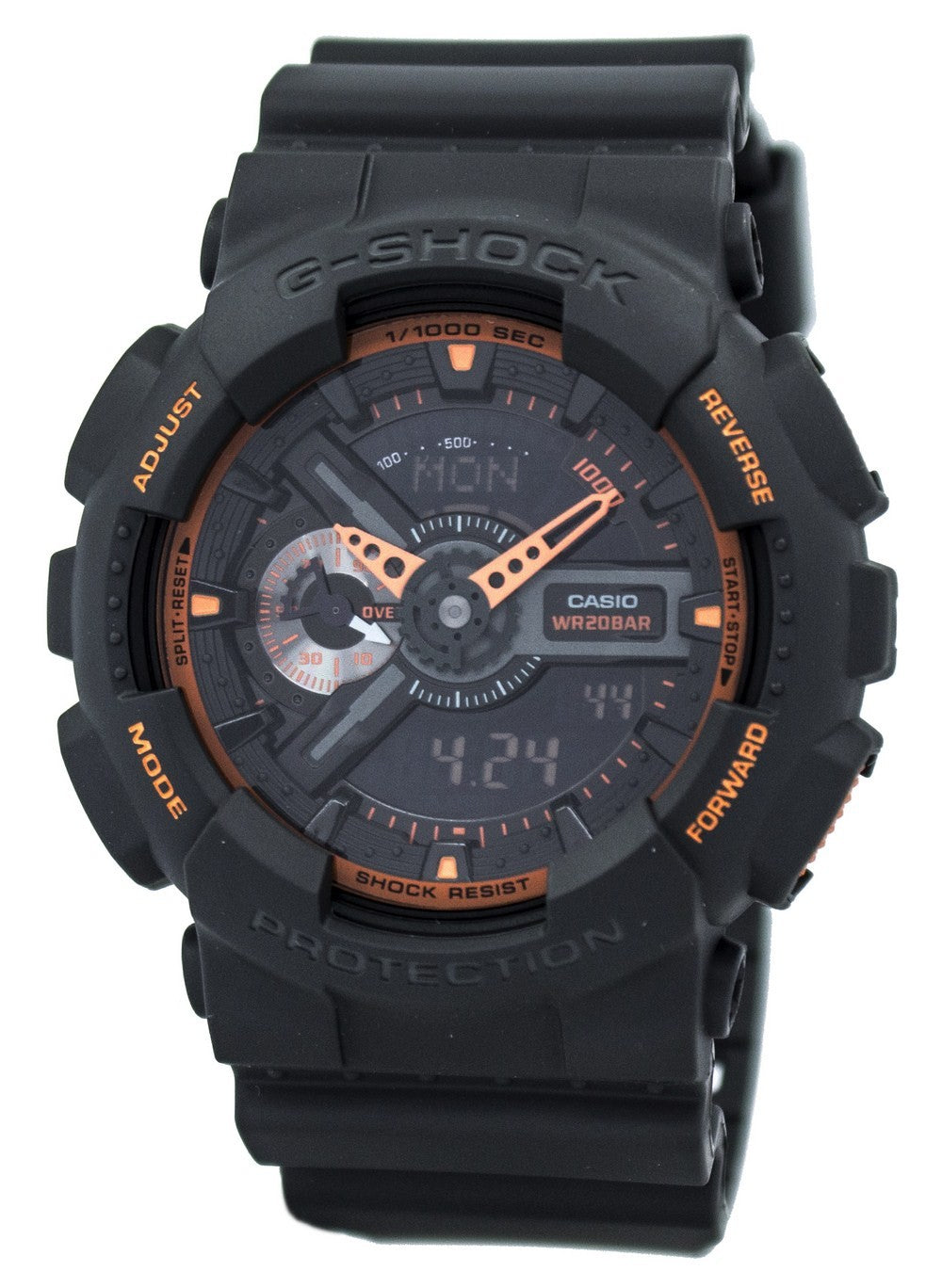 Casio G-Shock Analog-Digital GA-110TS-1A4 GA110TS-1A4 Men's Watch