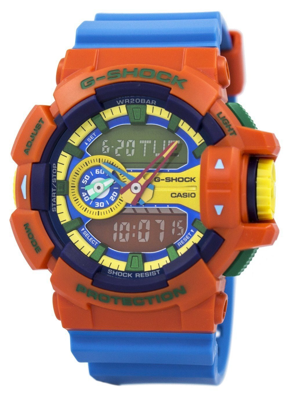 Casio G-Shock Analog-Digital Multi-Color GA-400-4A GA400-4A Men's Watch