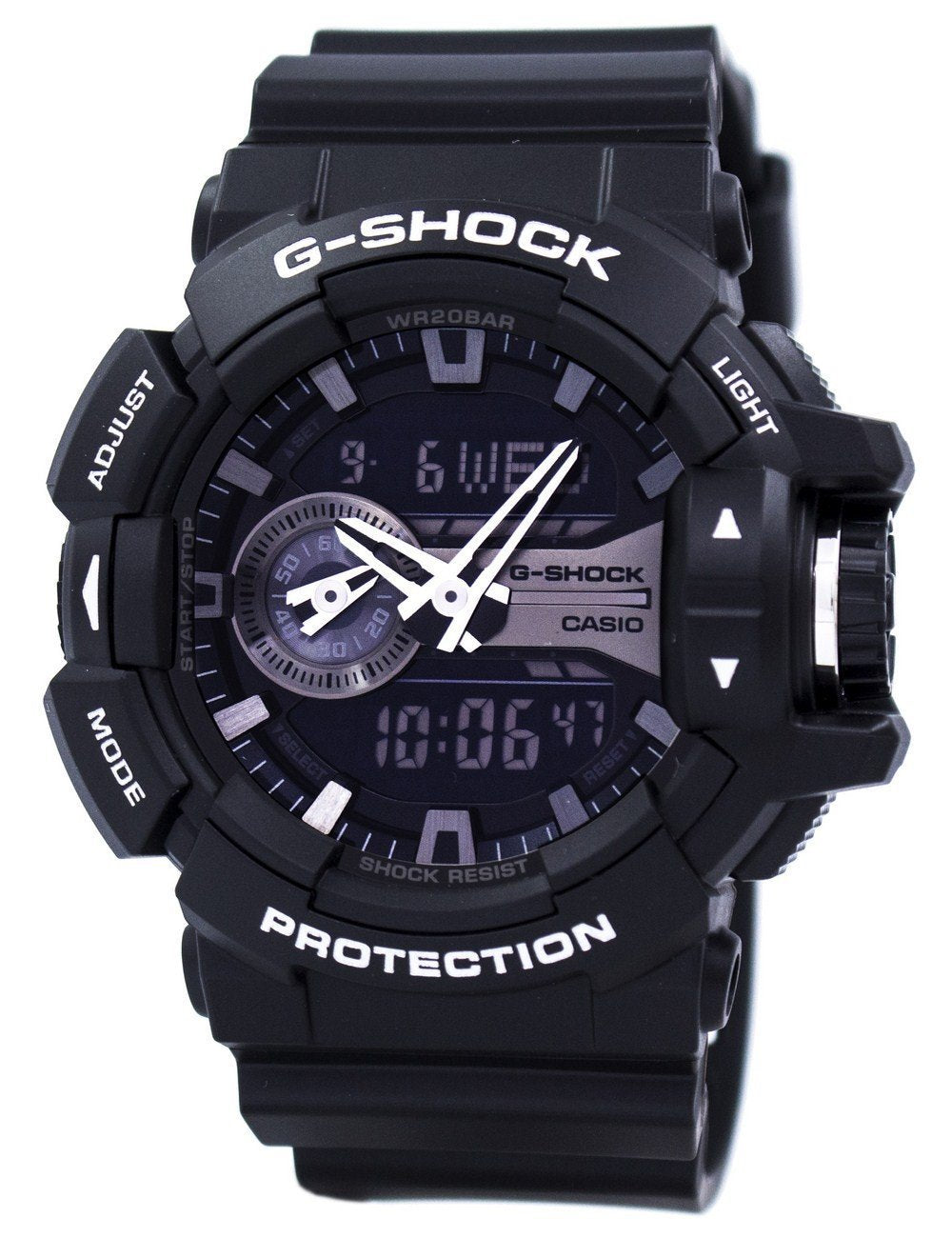 Casio G-Shock Analog Digital World Time GA-400GB-1A GA400GB-1A Men's Watch