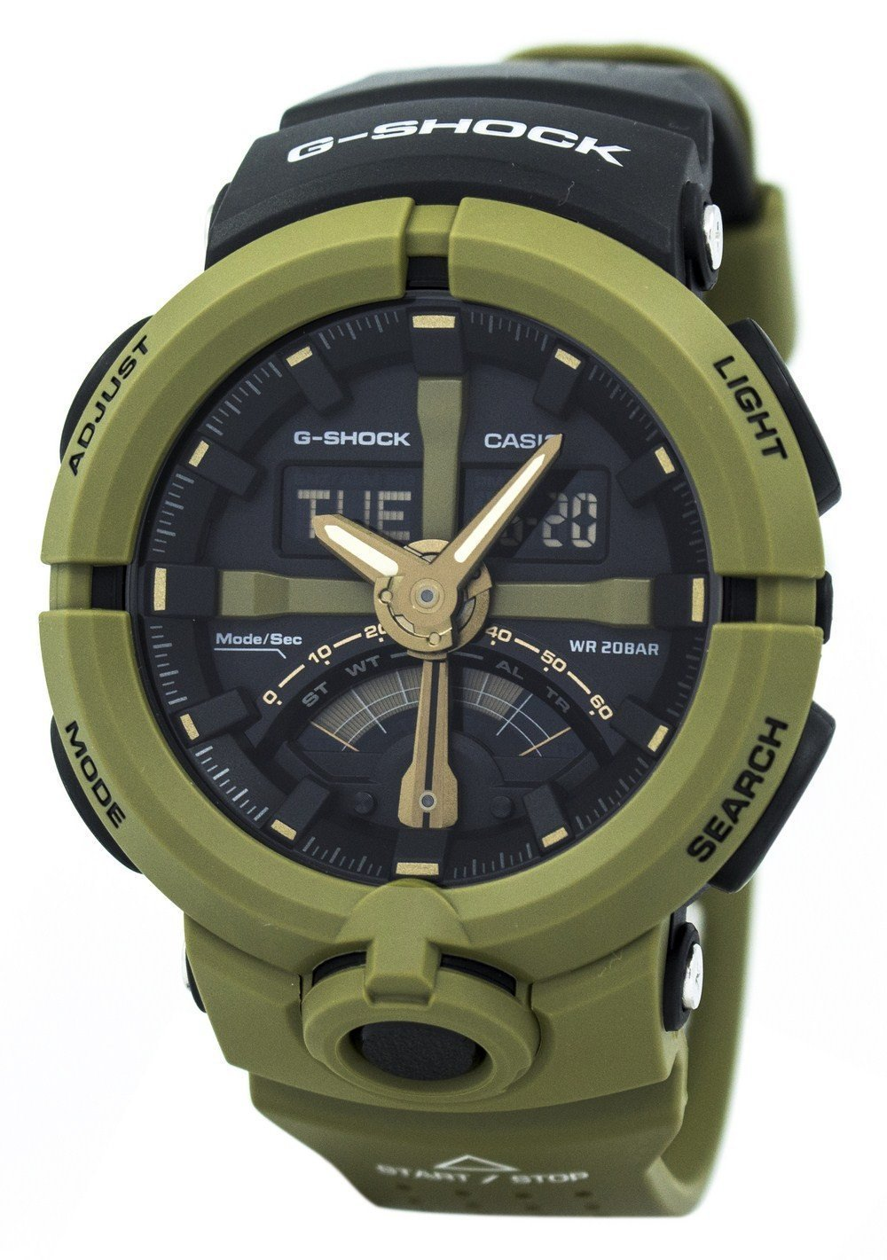 Casio G-Shock Analog Digital 200M GA-500P-3A GA500P-3A Men's Watch