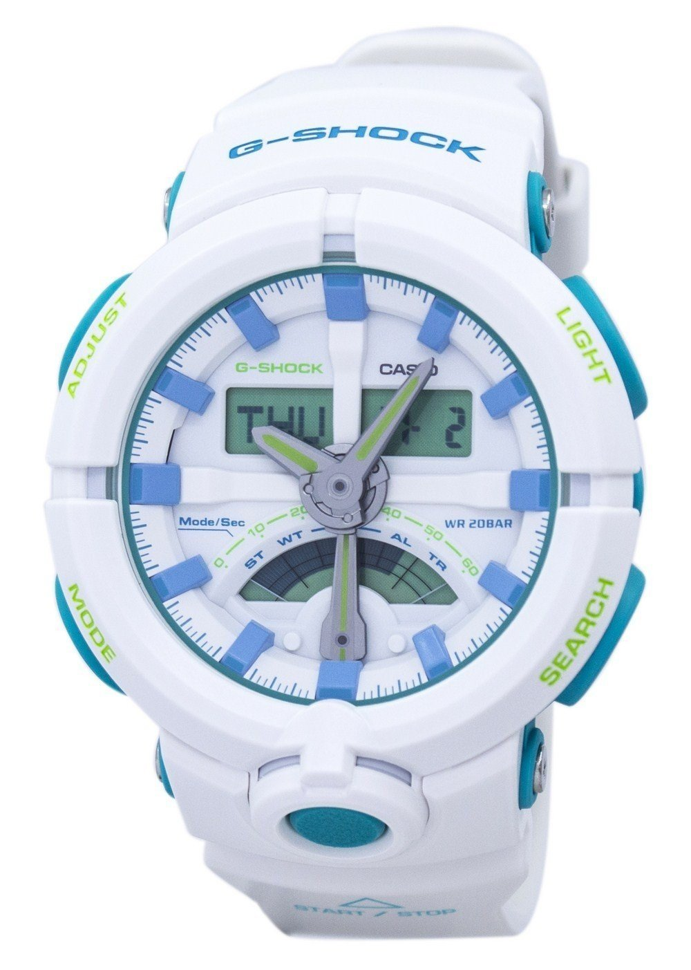 Casio G-Shock Shock Resistant Alarm Analog Digital GA-500WG-7A GA500WG-7A Men's Watch