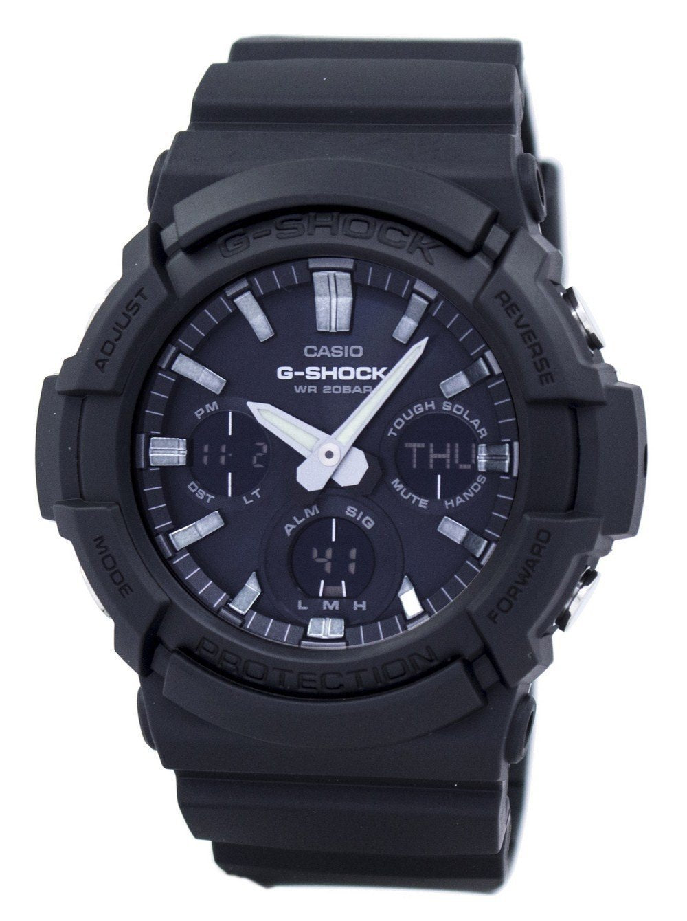 Casio G-Shock Tough Solar Shock Resistant 200M GAS-100B-1A Men's Watch