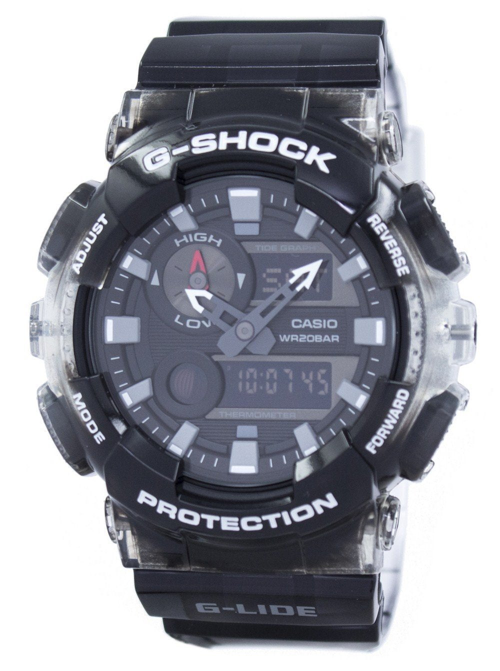 Casio G-Shock G-LIDE Tide Graph Thermometer Moon Phase GAX-100MSB-1A GAX100MSB-1A Men's Watch
