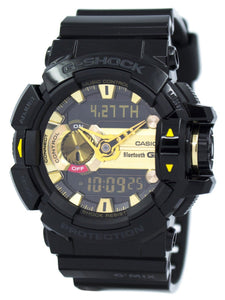 Casio G-Shock G'MIX Bluetooth Smart World Time Analog-Digital GBA-400-1A9 Men's Watch