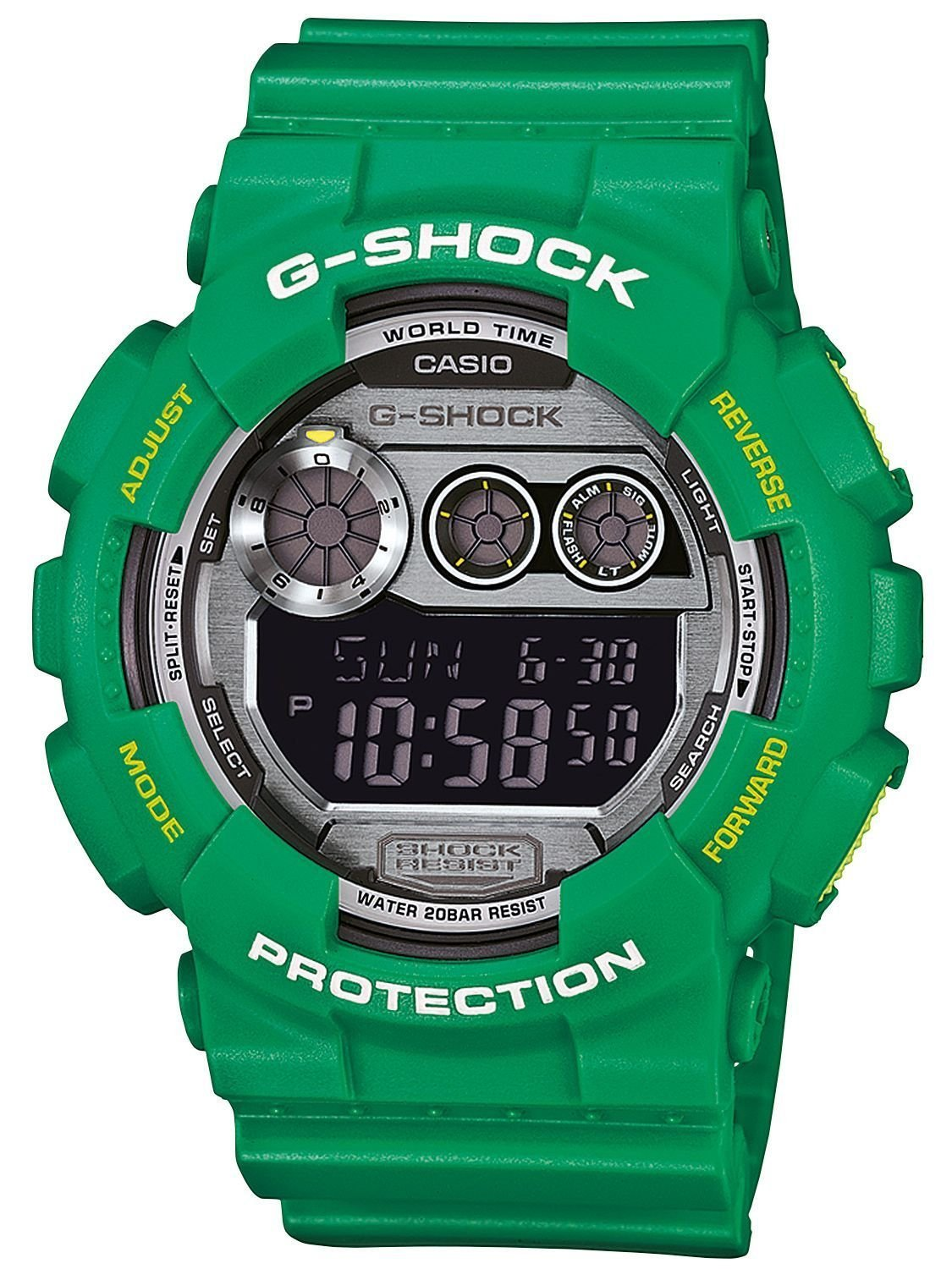 Casio G-Shock Digital Green GD-120TS-3 Men's Watch
