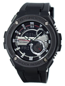 Casio G-Shock G-Steel Analog Digital World Time GST-210B-1A Men's Watch