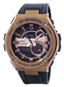 Casio G-Shock G-Steel Analog Digital World Time GST-210B-4A GST210B-4A Men's Watch