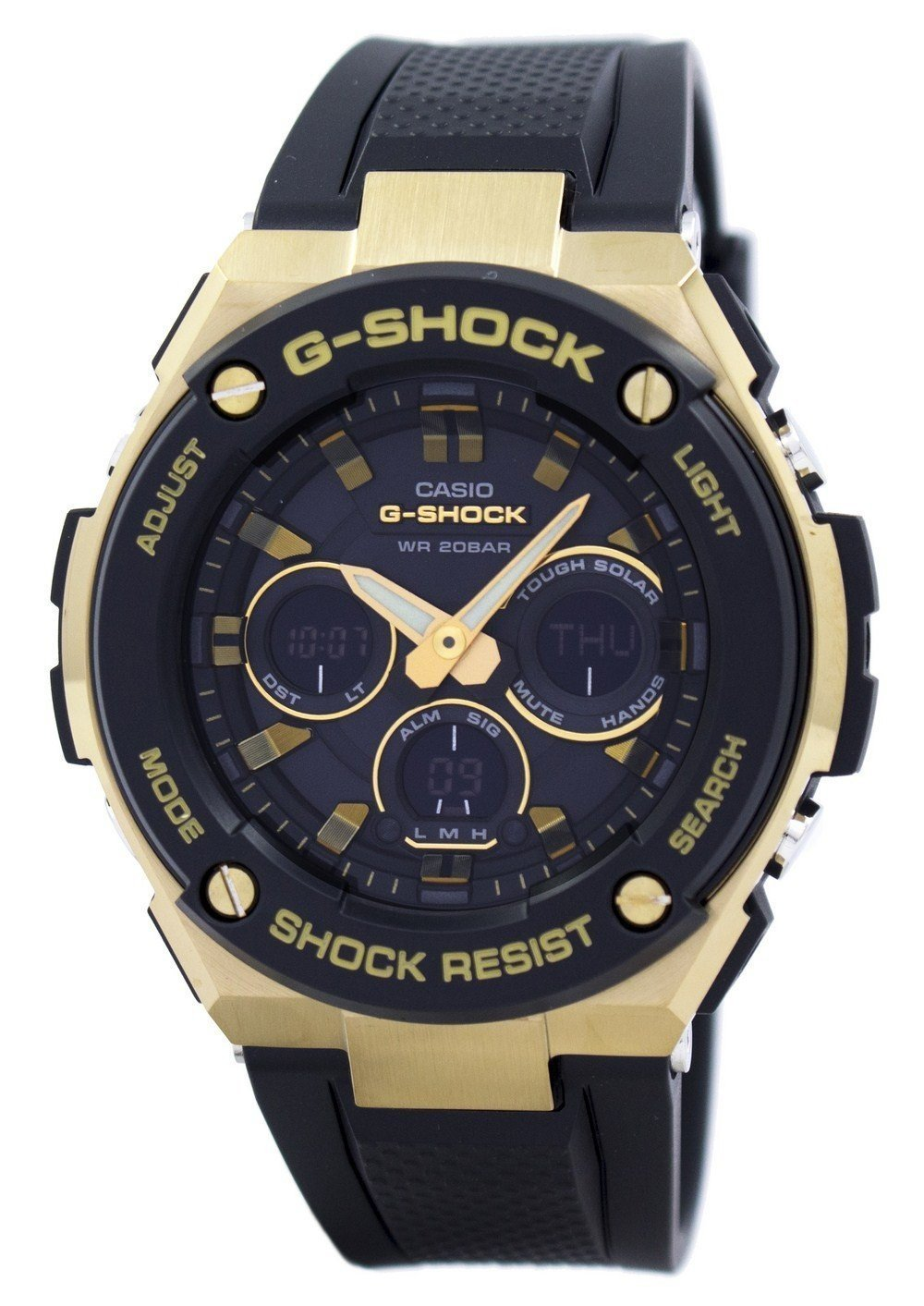 Casio G-Shock Tough Solar Shock Resistant Alarm GST-S300G-1A9 Men's Watch