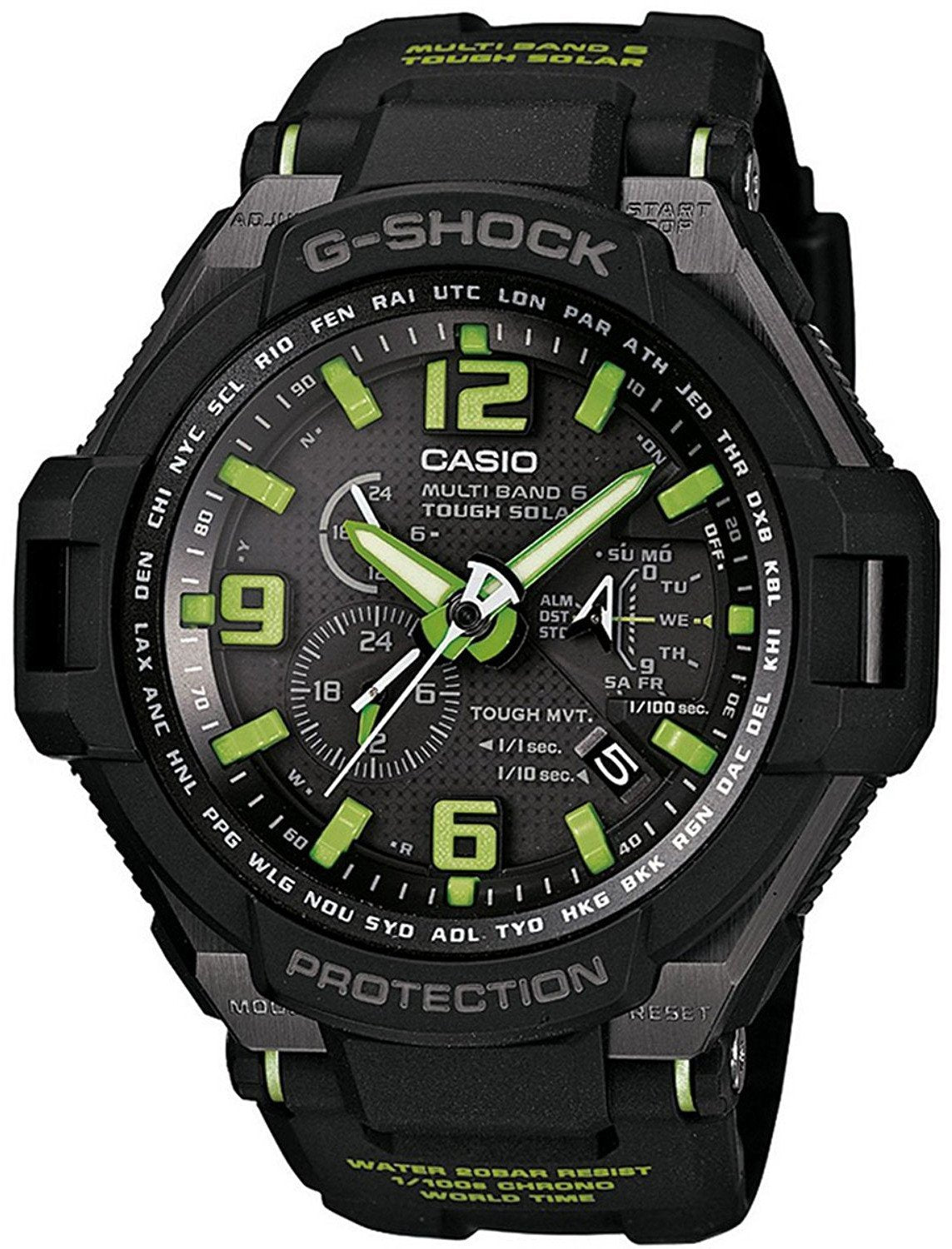 Casio G-Shock Triple G Resist Multi-Band 6 Atomic GW-4000-1A3 Men's Watch