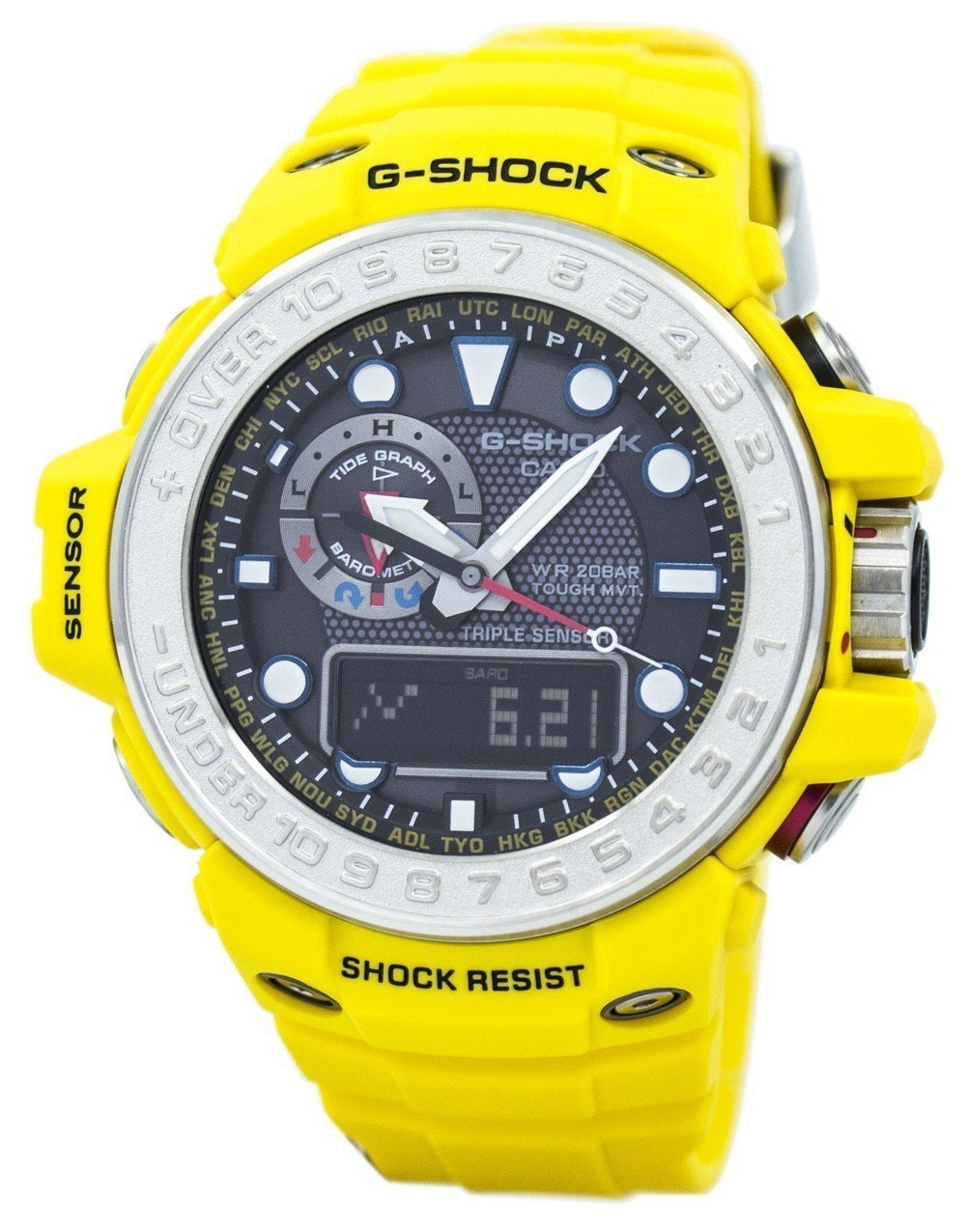 Casio G-Shock Gulfmaster Atomic GWN-1000-9A GWN1000-9A Men's Watch