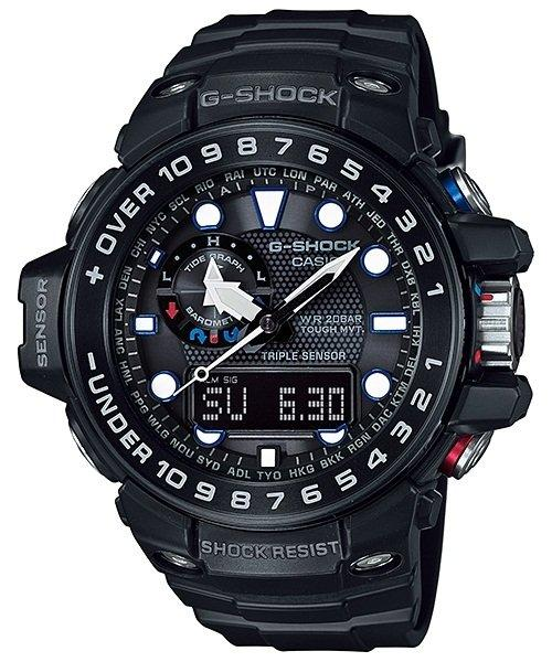 Casio G-Shock GULFMASTER Analogue-Digital GWN-1000B-1A Men's Watch