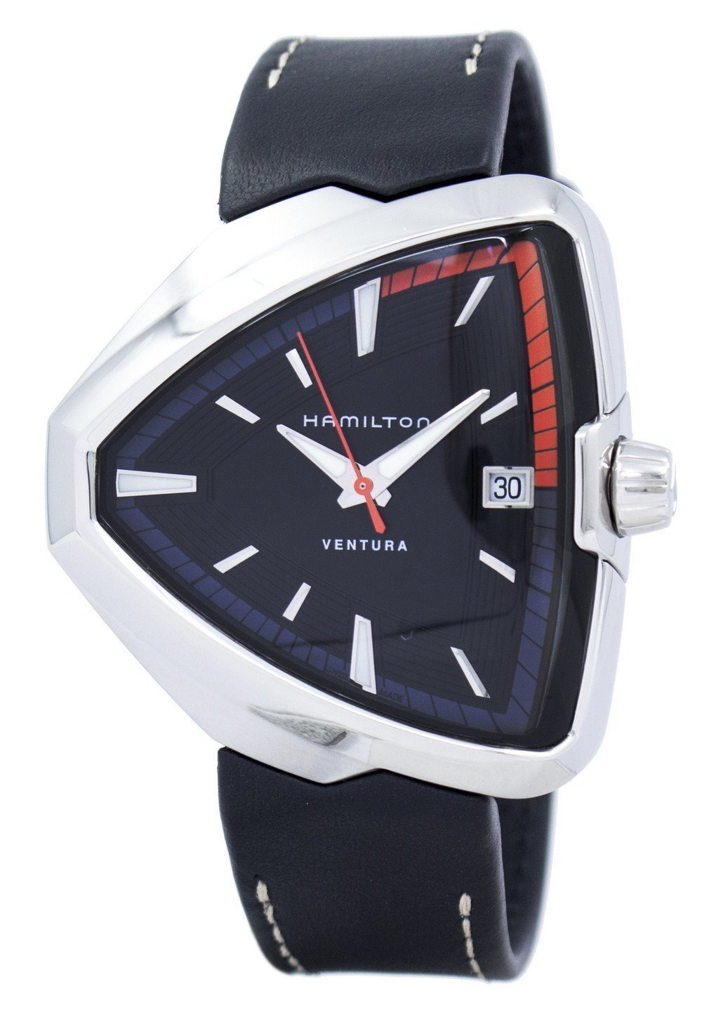 Hamilton Ventura Elvis80 Quartz H24551731 Men's Watch