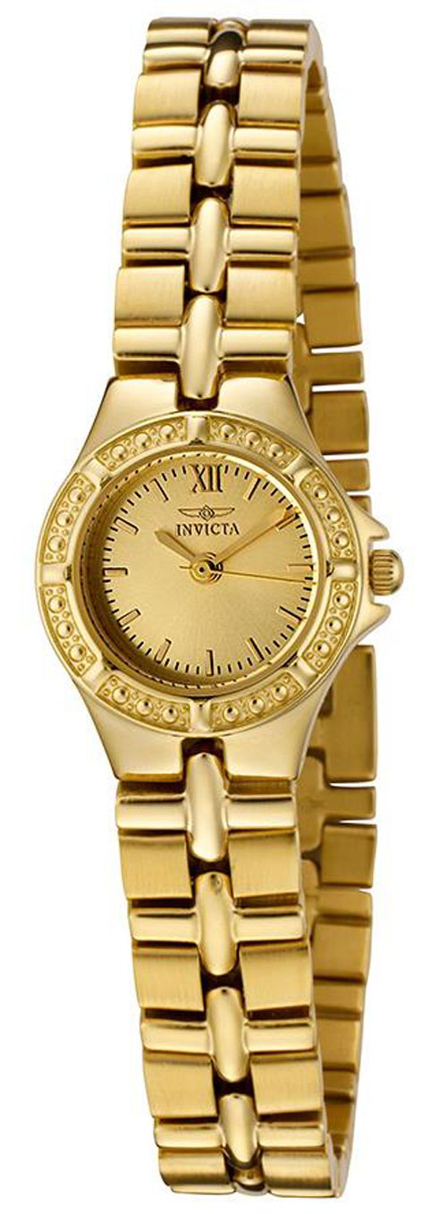 Invicta Wildflower Collection Gold Tone 0137 Women's Watch