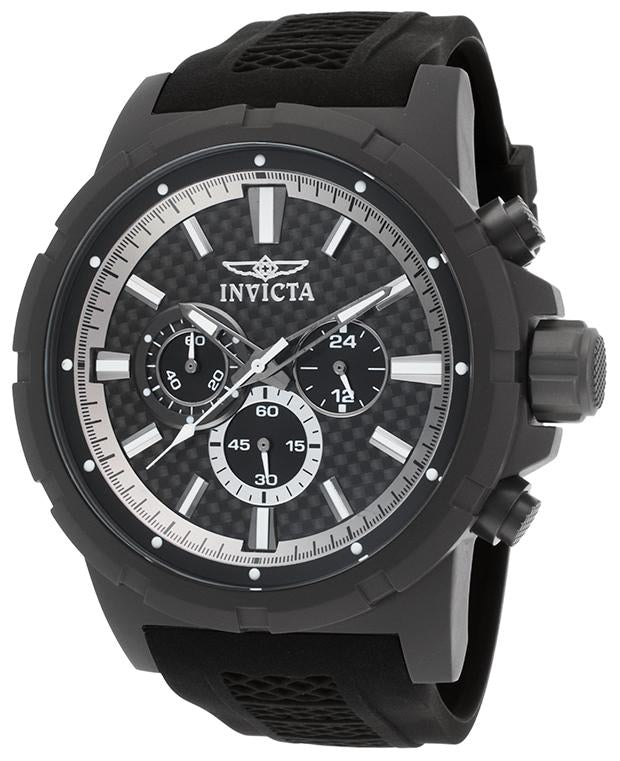 Invicta TI-22 Titanium Chronograph Black Dial 20453 Men's Watch