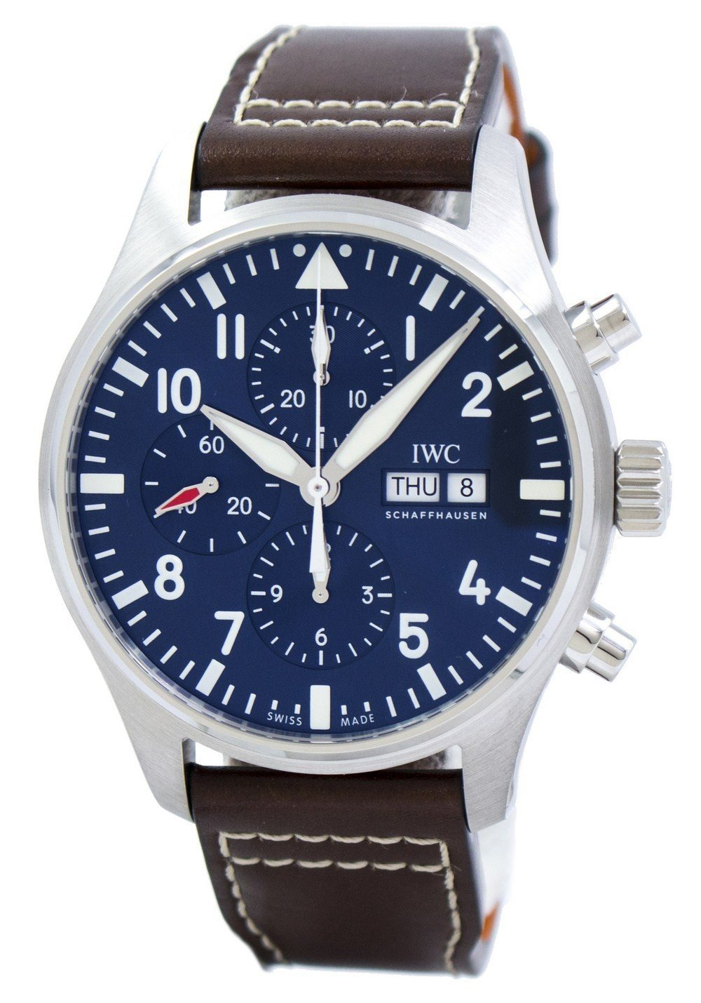 "IWC Pilot's ""LE PETIT PRINCE"" Edition Chronograph Automatic IW377714 Men's Watch"