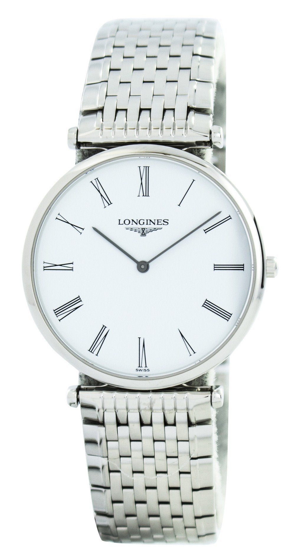 Longines La Grande Classique De Quartz Power Reserve L4.709.4.11.6 Men's Watch