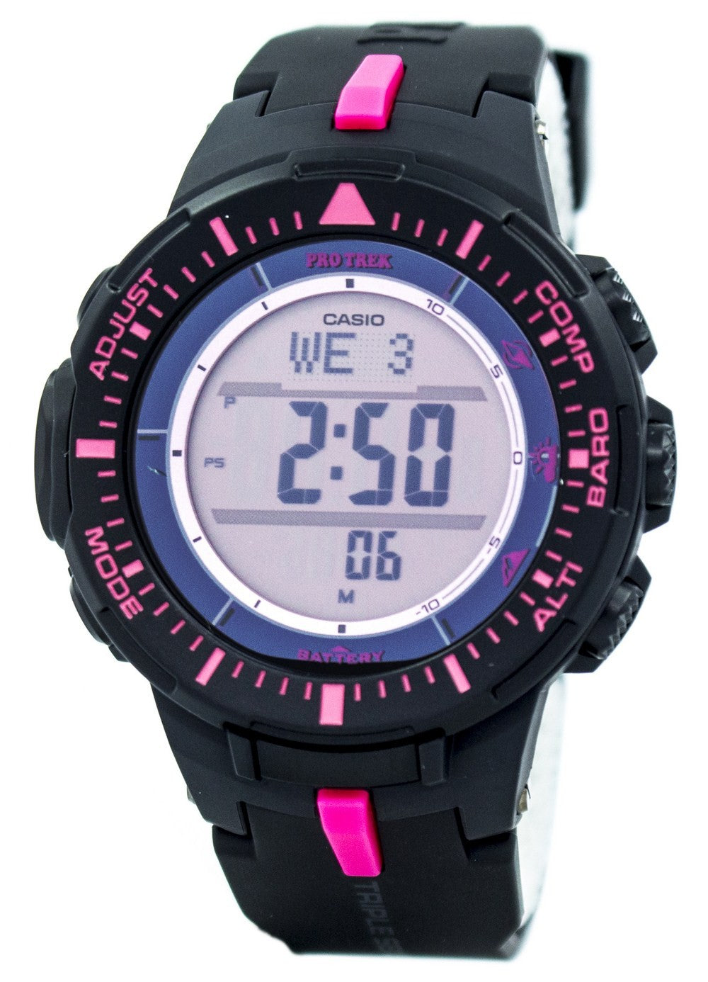 Casio Protrek Triple Sensor Tough Solar PRG-300-1A4 PRG300-1A4 Watch