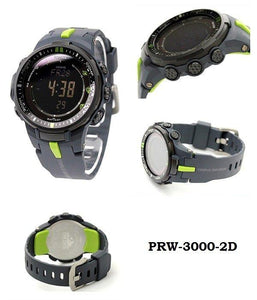 Casio Protrek Triple Sensor Atomic PRW-3000-2D PRW3000-2D Men's Watch