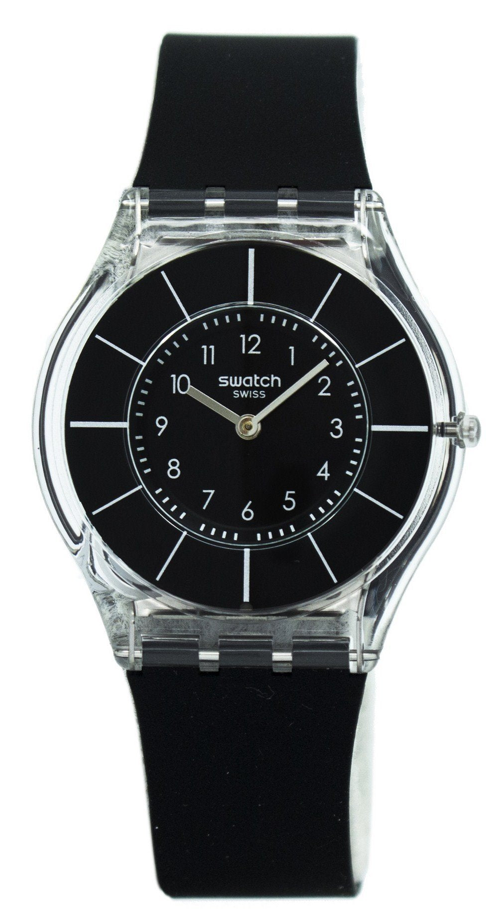 Swatch Skin Black Classiness Quartz SFK361 Women's Watch