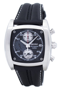 Seiko Chronograph Alarm Quartz SNAB03 SNAB03P1 SNAB03P Men's Watch
