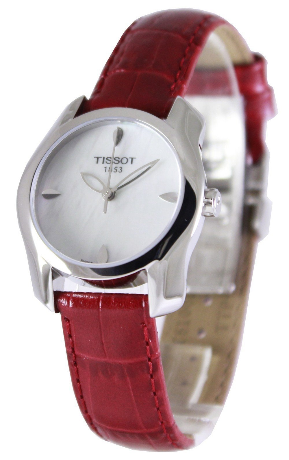 Tissot T-Wave Round Quartz T023.210.16.111.01 T0232101611101 Women's Watch