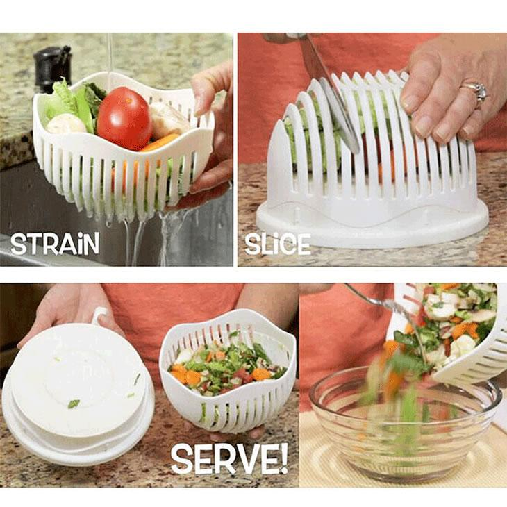 Perfect Salad/Fruit Cutter - 50% OFF TODAY