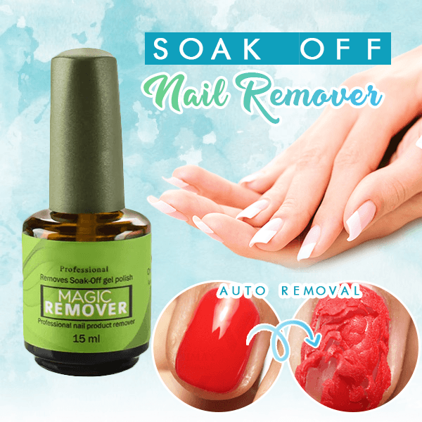 Magic Instant Nail Gel Remover