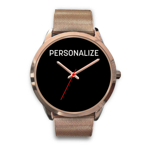 Shoppinista Watch, Rose Gold - Personalizable, Multicolor Bands