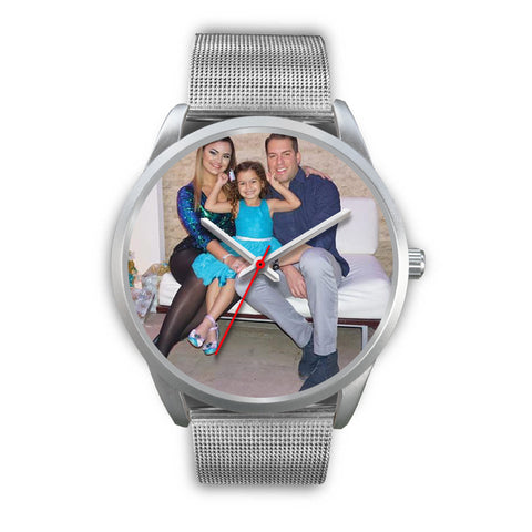 Shoppinista Watc, Silver - Personalizable, Multiple colors