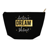 Believe Dream Shine BIG Makeup / Multiuse Bag