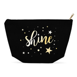 Shine BIG Black Makeup Multiuse Bag