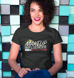 MAKEUP INFLUENCER BLACK TSHIRT by SHOPPINISTA™