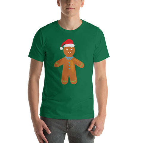 Gingerbread Men Green T-Shirt