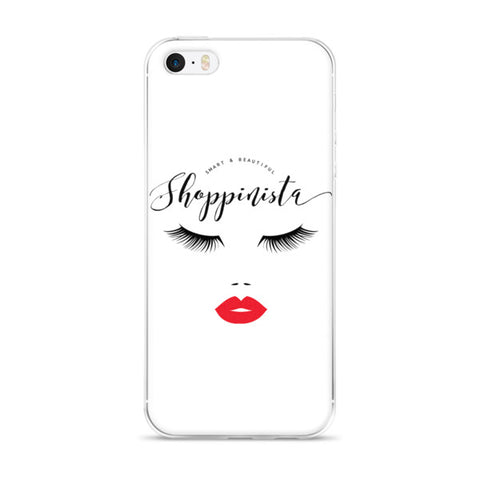 Smart & Beautiful Shoppinista - iPhone 5/5s/Se, 6/6s, 6/6s Plus Case