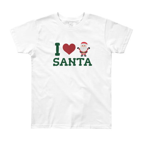 I Love Santa Kids T-Shirt