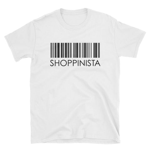 Shoppinista Barcode - Unisex T-Shirt