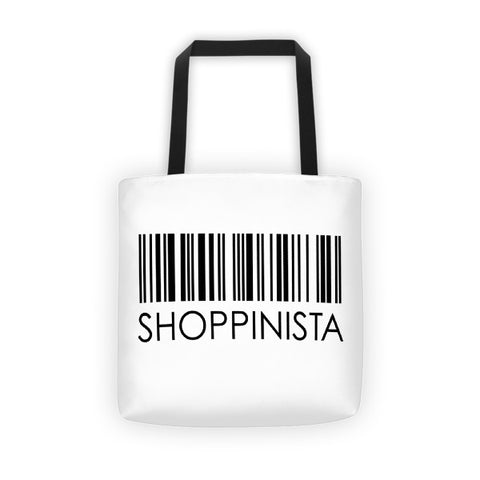 Shoppinista Barcode - Tote bag