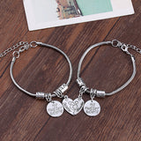 Mother & Daughter Bracelet Set of 2