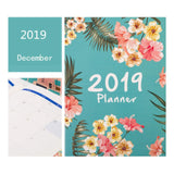 2019 Graphic Notebook, Daily, Weekly, Monthly and Yearly Planner Agenda
