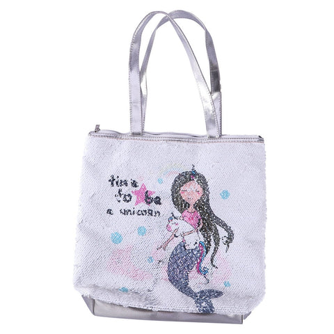 Mermaid Unicorn Sequin Handbag
