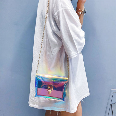Jelly Holoprahic Bag (small)