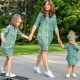 Leaf Matching Dress - Mommy, Sister, BFF & Me