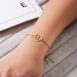 Mother, Daughter, Friends or Sisters Bracelets Gold Stainless Steel - 1 pc