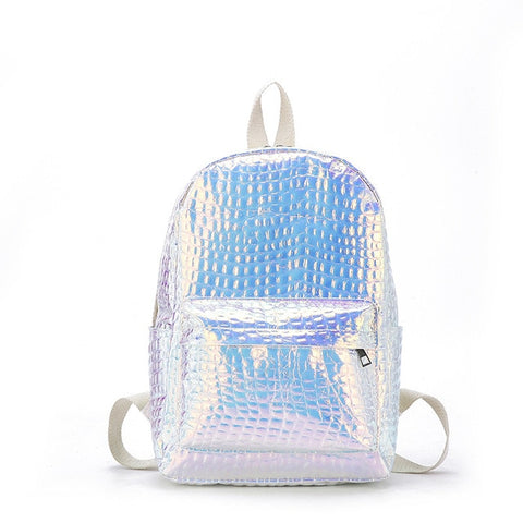Mochila Holographica en PU Leather