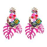 Aretes Tropicales - Tropical Earrings