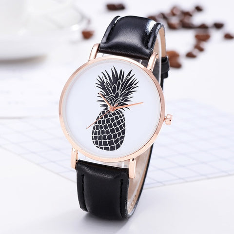 Pineapple Luxury Leather Watches