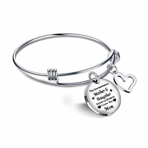 Love Between Mother & Daughter Bracelet Bangle