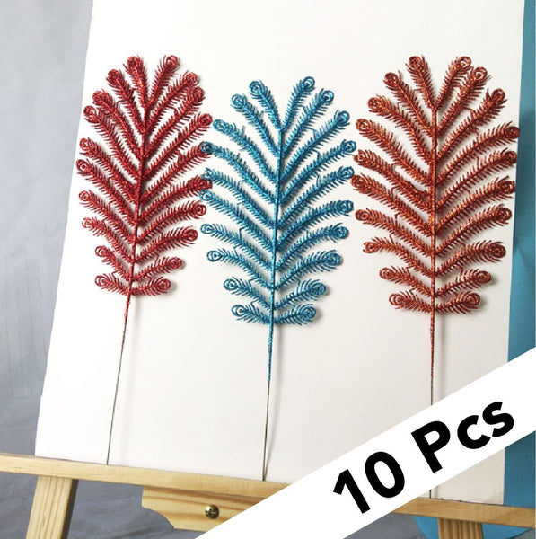 10 pcs Glitter Decorative Branches-Next Deal Shop-Next Deal Shop